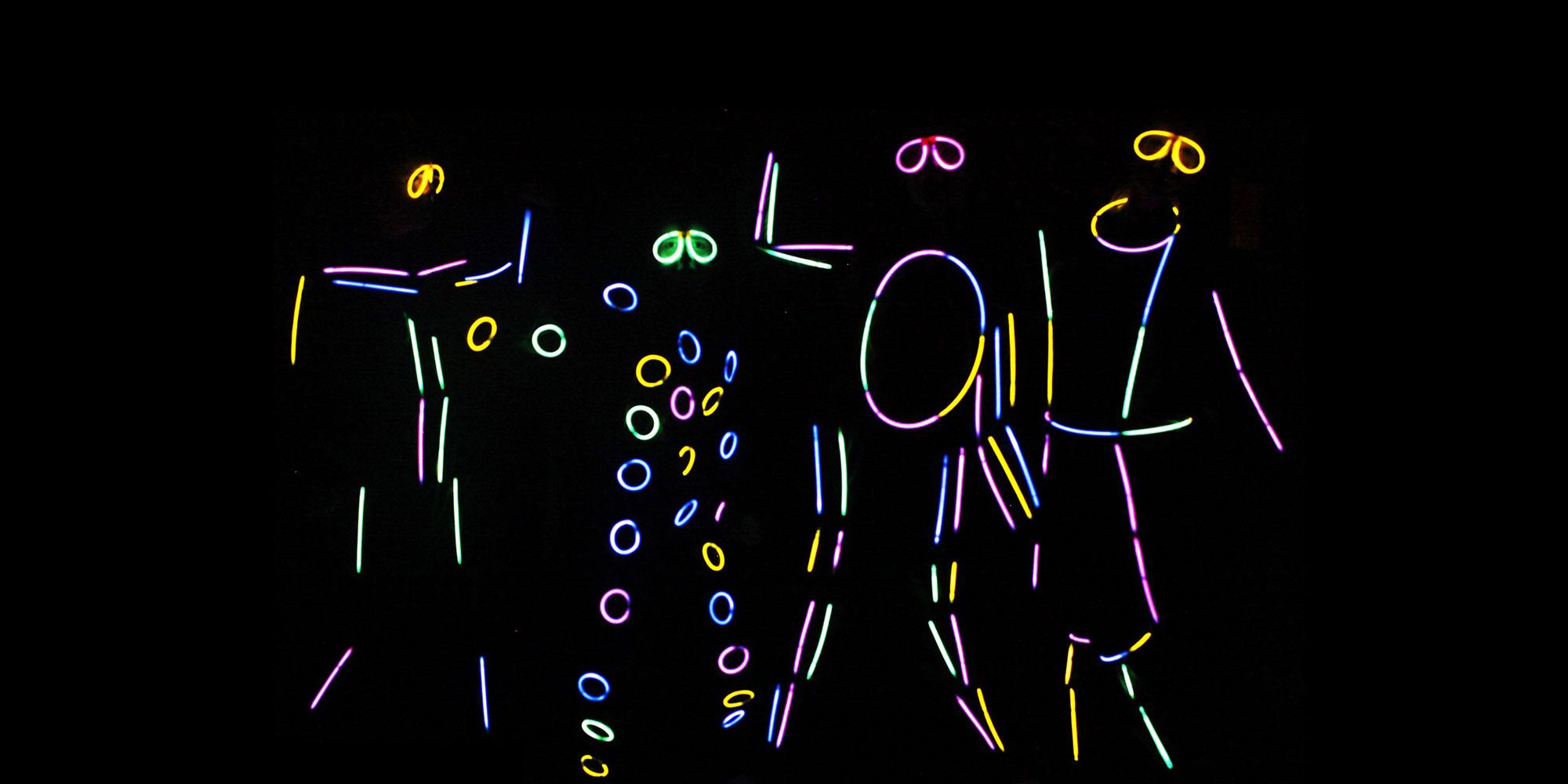 Disfraces glow stick Partylus