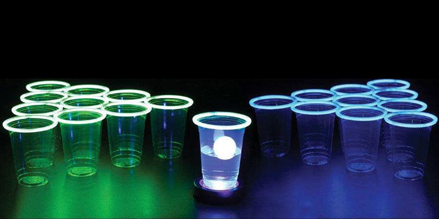 Beer pong fluorescente Partylus
