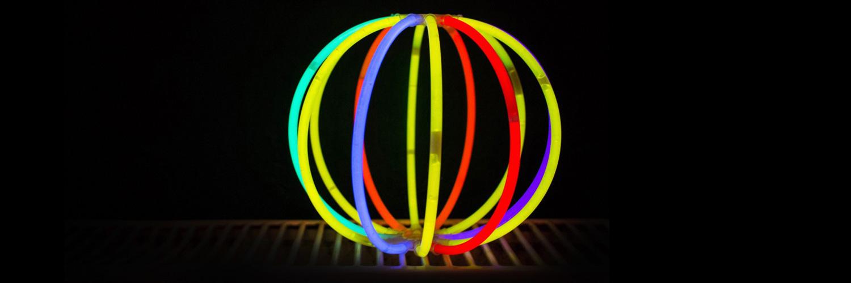 Bola glow stick Partylus