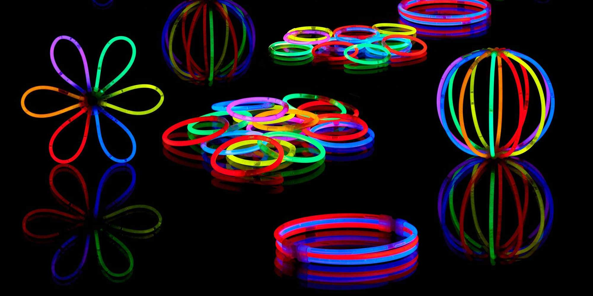 Complementos pulseras luminosas Partylus