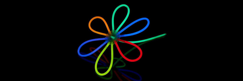 Flor glow stick Partylus