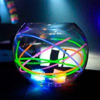 Centro mesa pulseras luminosas Partylus