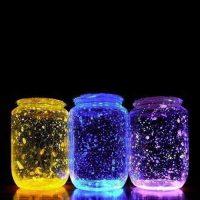 Frascos fluorescentes Partylus