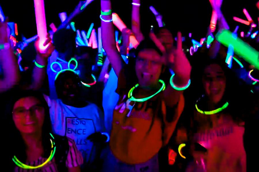 pulseras fluorescentes al por mayor partylus