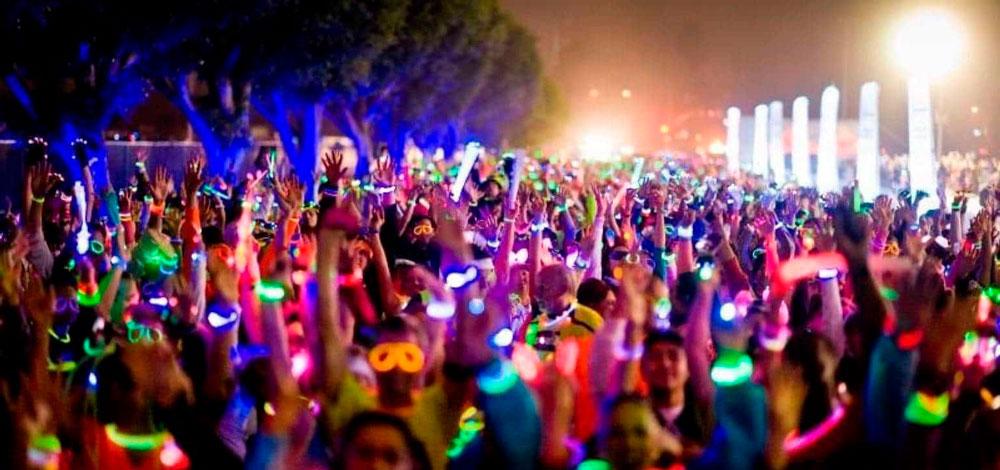 Pulseras luminosas conciertos Partylus