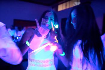 Pulseras luminosas fiestas para adultos Partylus